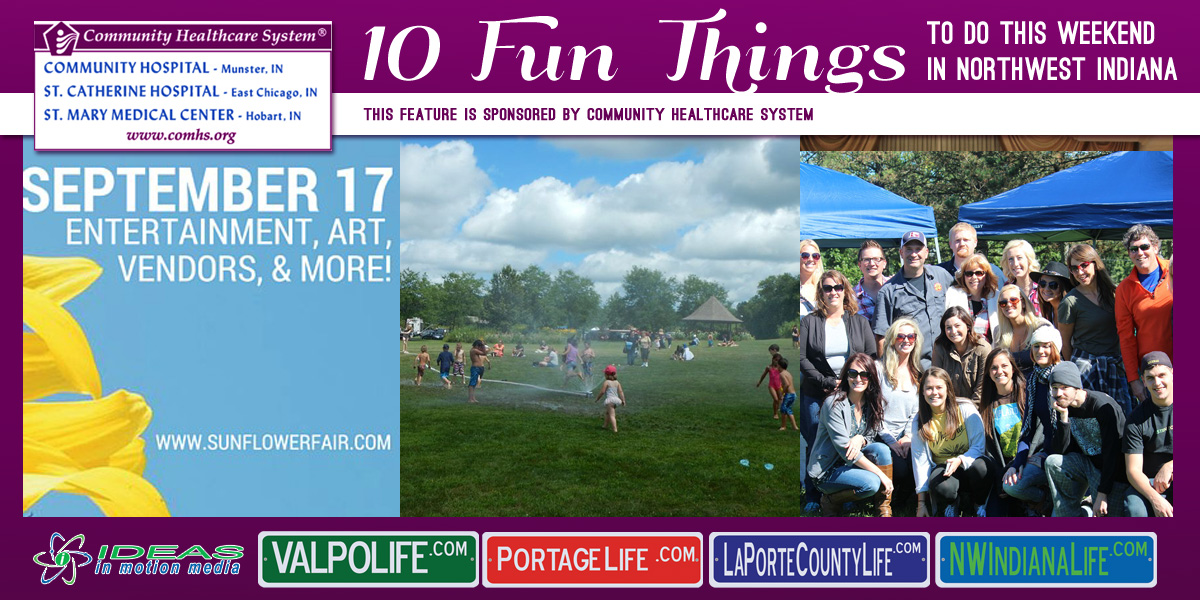 10 Fun Things to Do this Weekend in Northwest Indiana: September 16-18, 2016