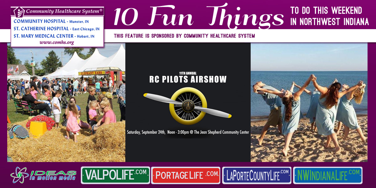 10 Fun Things to Do this Weekend in Northwest Indiana: September 23-25, 2016