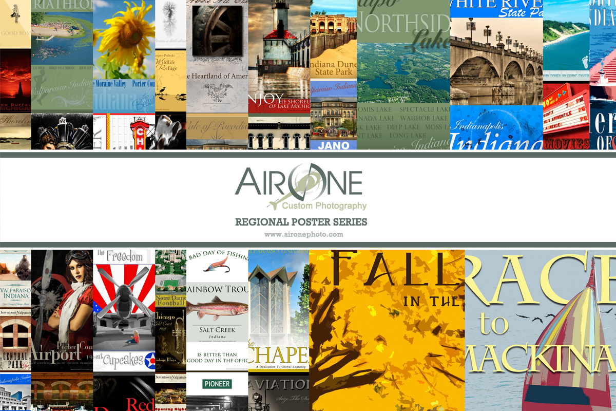 See Your Region in New Way with Air One's Regional Poster Series