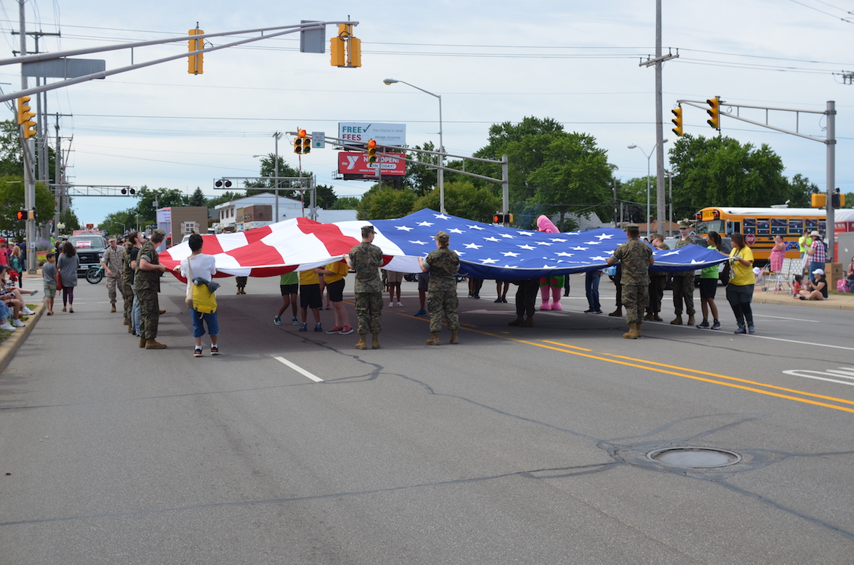 Michigan City Honors America's Heroes and Celebrates Indiana's Bicentennial