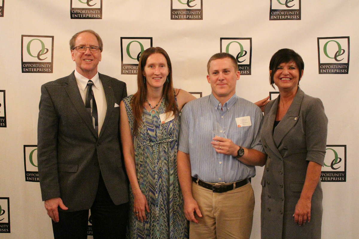 Opportunity Enterprises Celebrates Clients, Staff, and Volunteers at Celebration of Achievement Breakfast