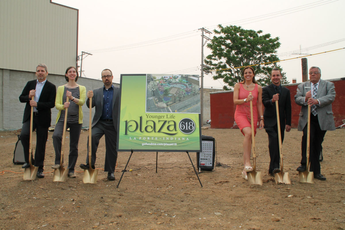 City of La Porte Holds Groundbreaking Ceremony for Younger Life Plaza 618