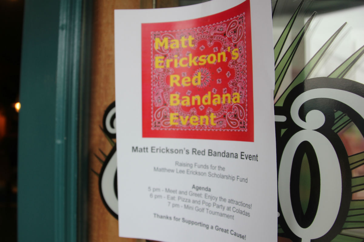 Zao Island Hosts Benefit for Matthew Lee Erickson Foundation