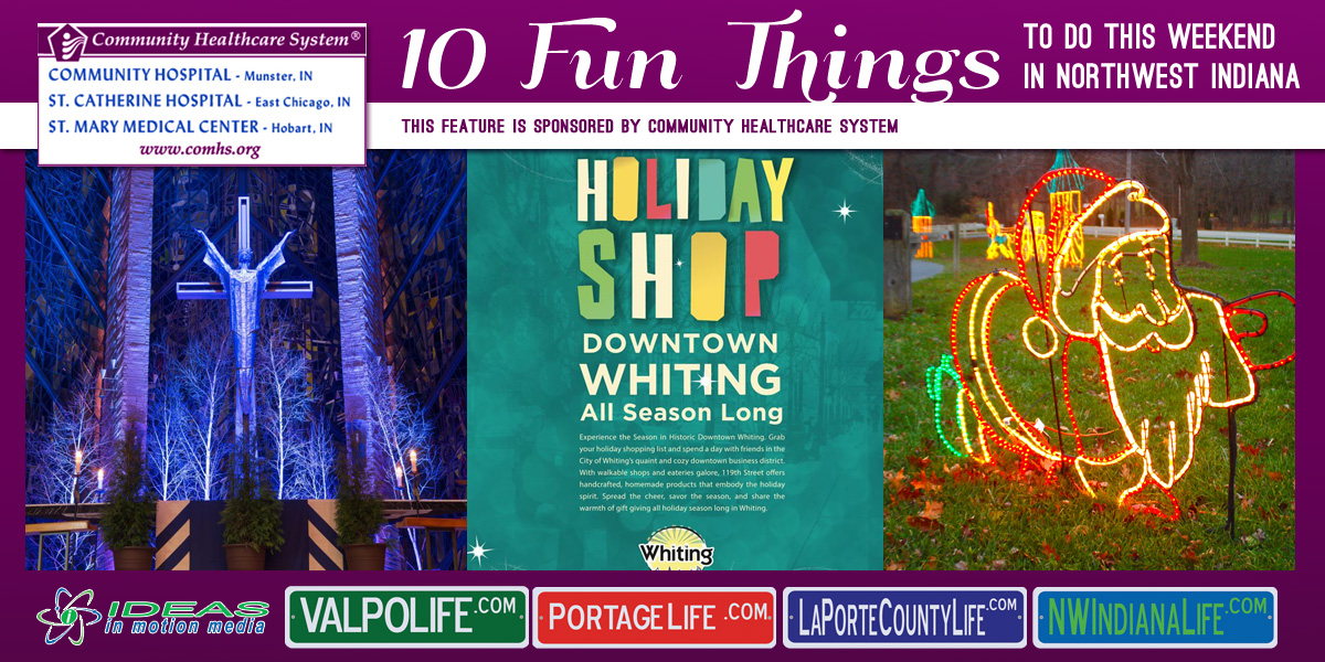 10 Fun Things to Do this Weekend in Northwest Indiana: December 9-11, 2016