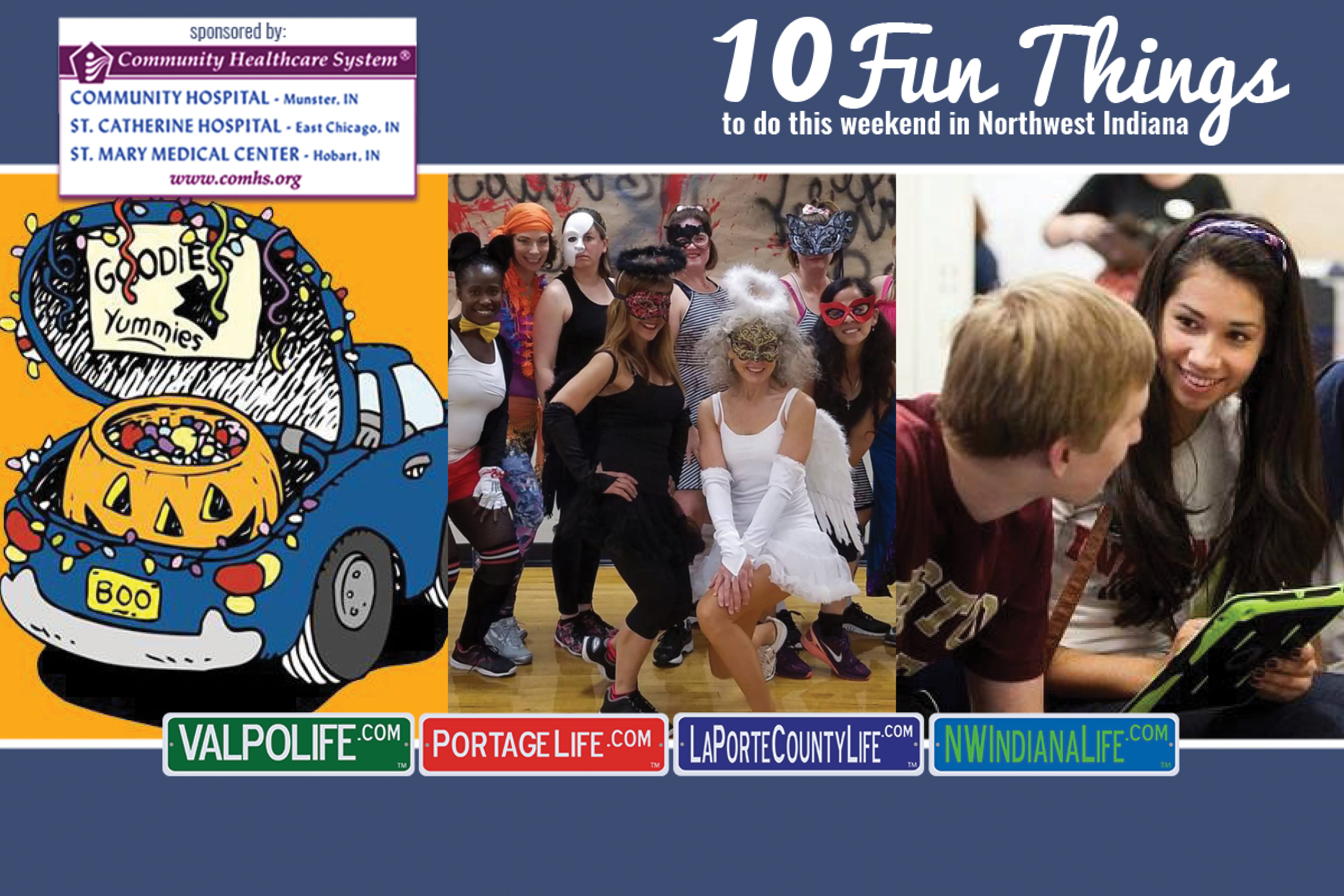 10 Fun Things to Do in NWI October 26 – October 28, 2018