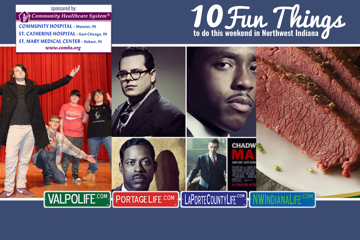 10 Fun Things to Do in NWI for March 16th – 18th, 2018