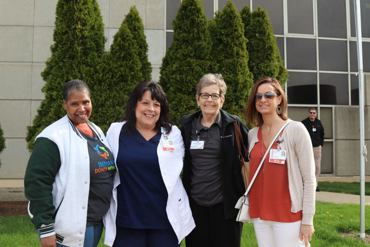 La Porte Hospital honors organ donors during National Donate Life Month