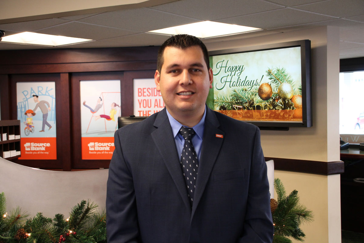 1st Source Bank Welcomes Jerry Del Real as Manager of Portage Central Banking Center