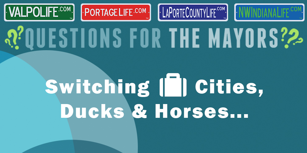 Getting to Know the Mayors: Switching Cities, Ducks, & Horses…