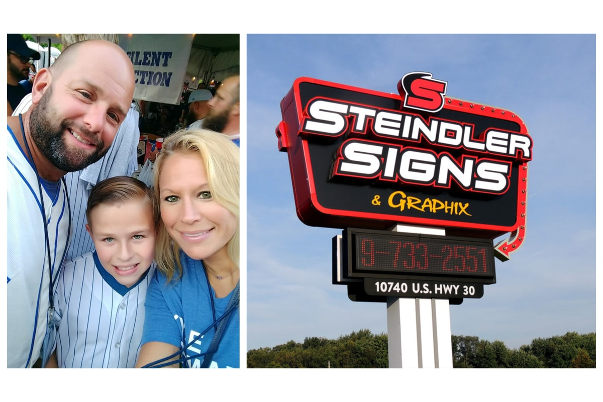 Steindler Signs & Graphix: Accidental internship turned thriving business