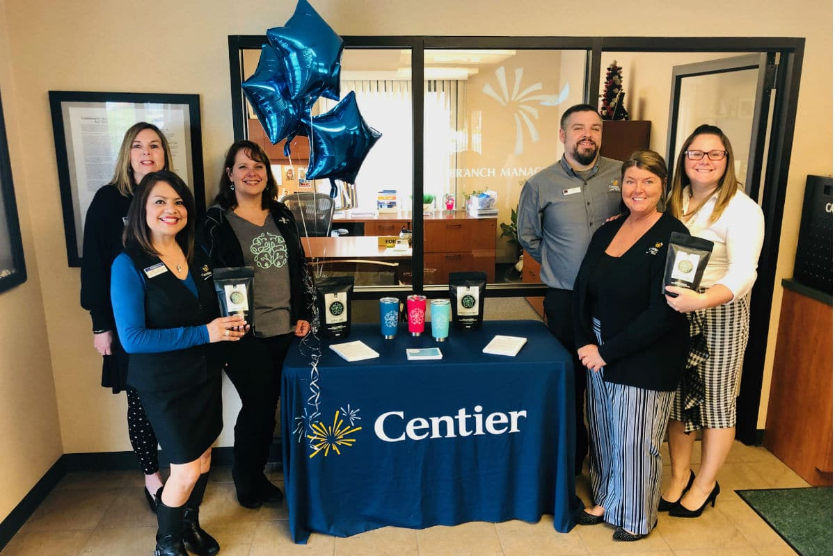 Centier Bank's Chesterton South Branch to Support The H Life with Bake Sale, Coffee Flight on May 13