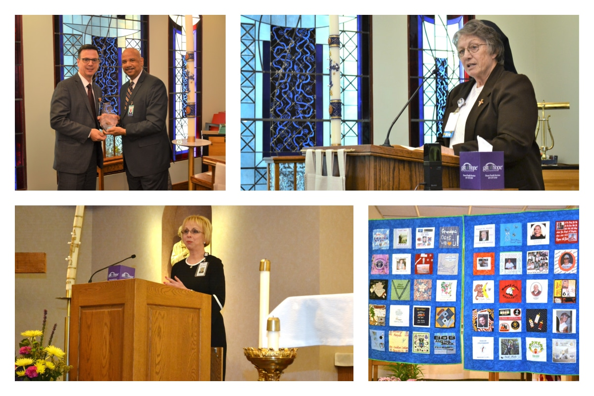 Donor families, recipients honor organ donation during  Donate Life events at Franciscan Health Dyer and Crown Point