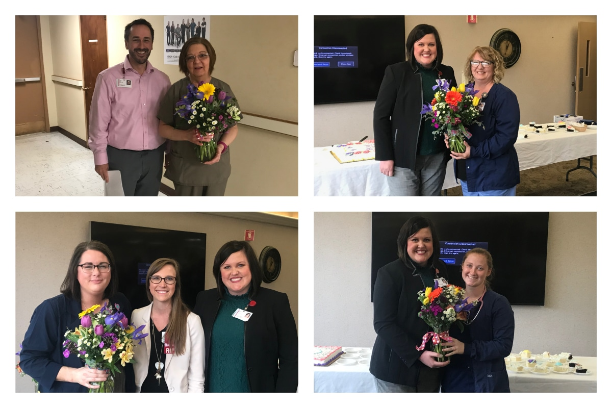 "La Porte and Starke Hospitals Name ""Colleagues of Quarter"" for  First Quarter 2019"