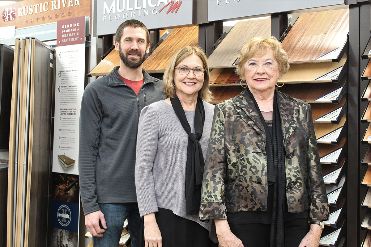 Tudor Floors and More Carpet One celebrates 50 years with grand re-opening