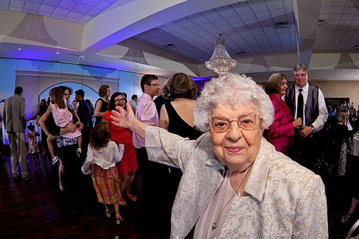 Beloved senior Josephine Purevich celebrated by family, community