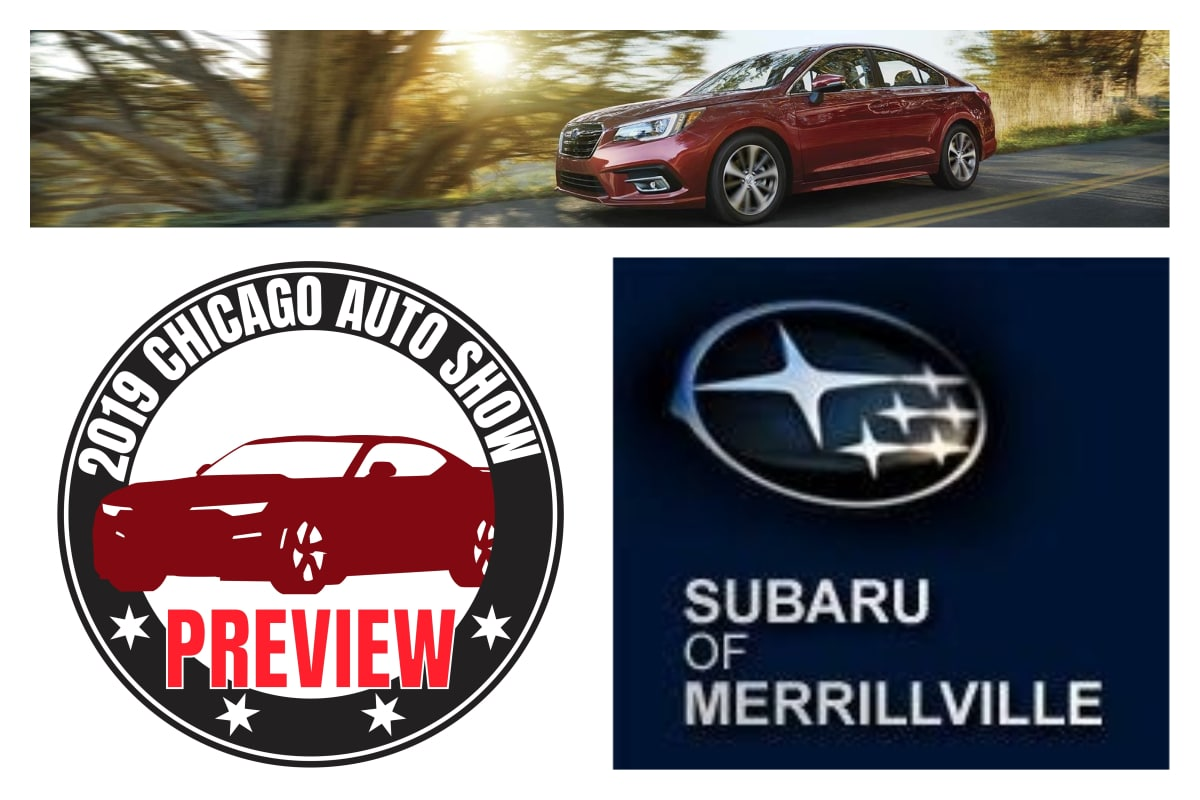 2019 Subaru Legacy: A Chicago Auto Show Preview brought to you by Subaru of Merrillville