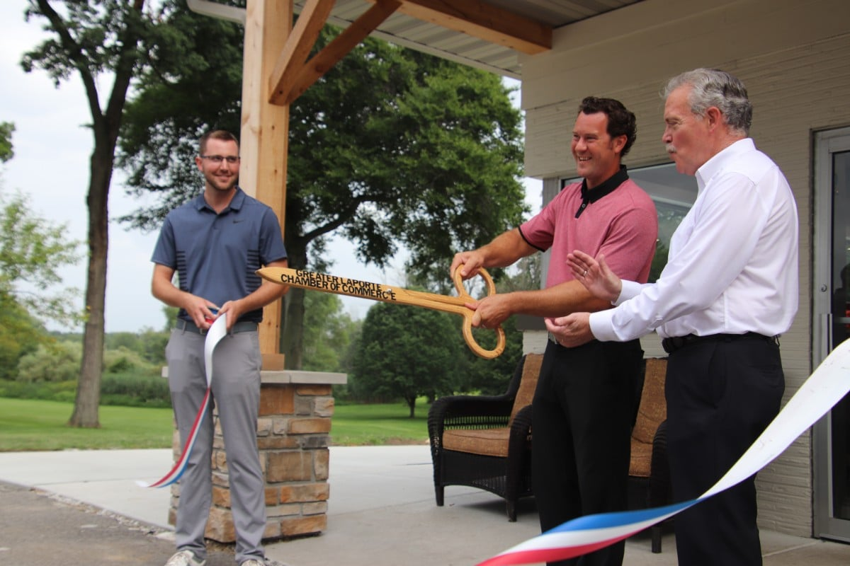 Beechwood Golf Course Dedicates New Clubhouse, Refurbishes a Bit of La Porte History