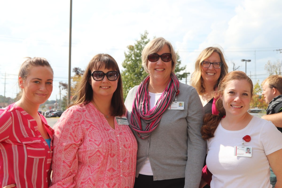 La Porte Hospital Joins Community for First Annual Blow Away Breast Cancer Event