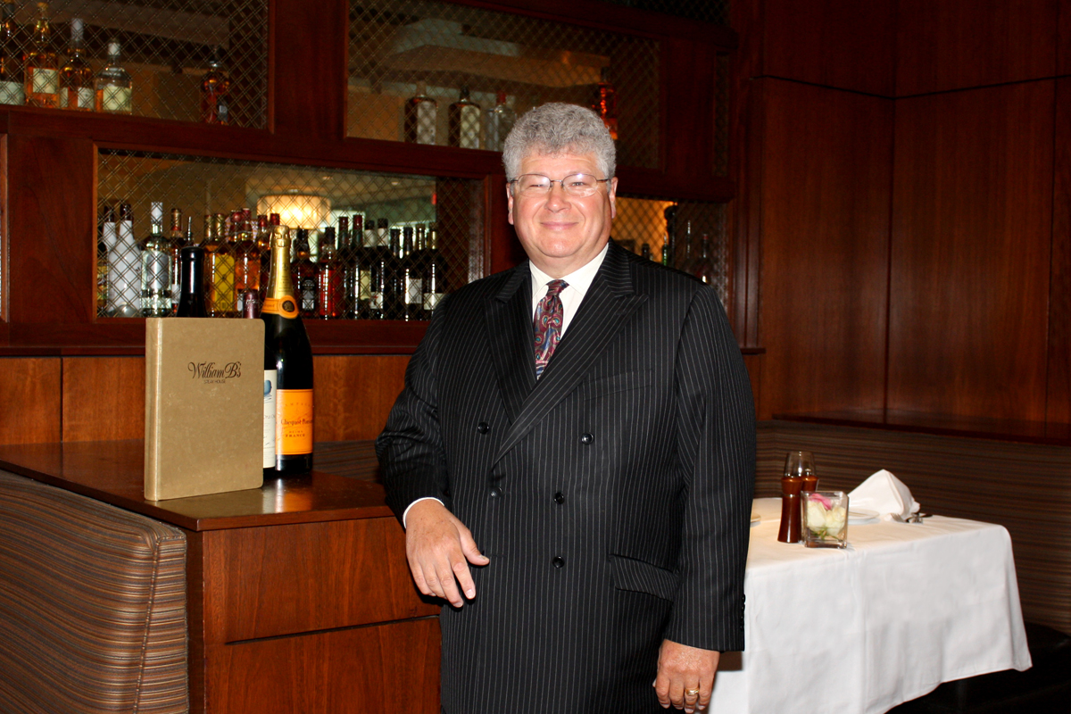 William B's Steakhouse at Blue Chip Casino, Hotel & Spa Receives Wine Spectator Award of Excellence for Third Year