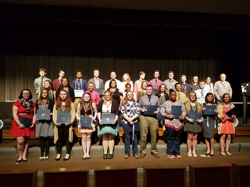 Career and Technical Education Students Honored