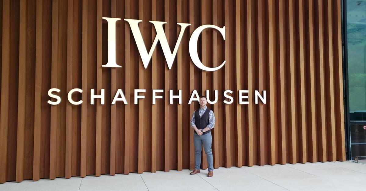 IWC Switzerland Watchmaker training dream come true for Albert's Jeweler Timepiece Specialist