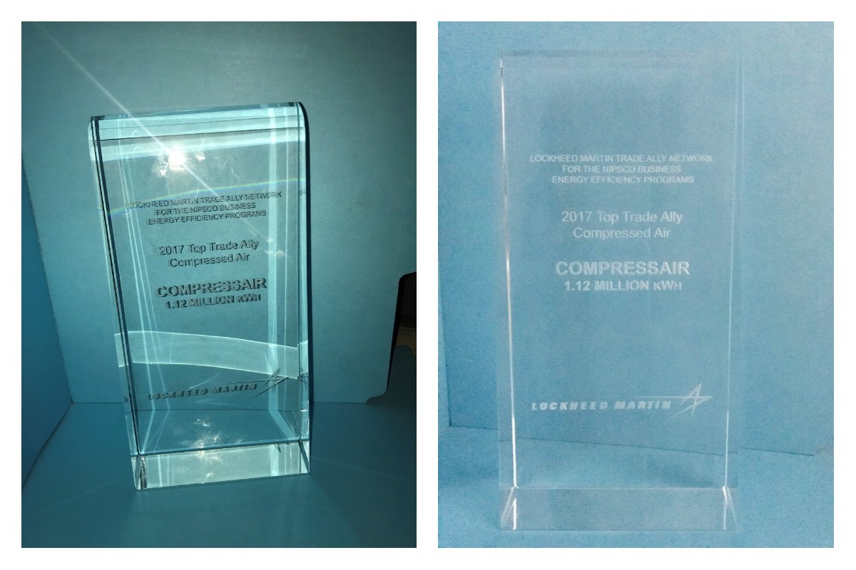 CompressAir Earns Award for Second Year in a Row