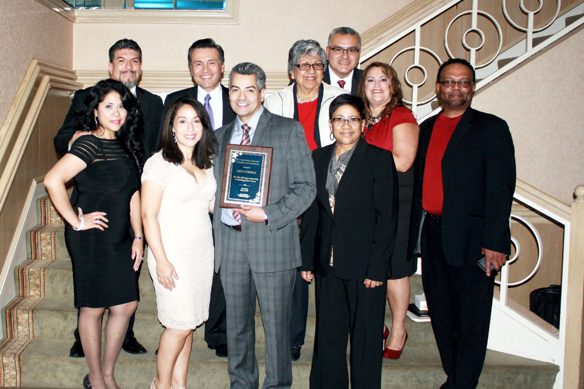 Correa Honored by Hispanic Business Community for Career Achievements