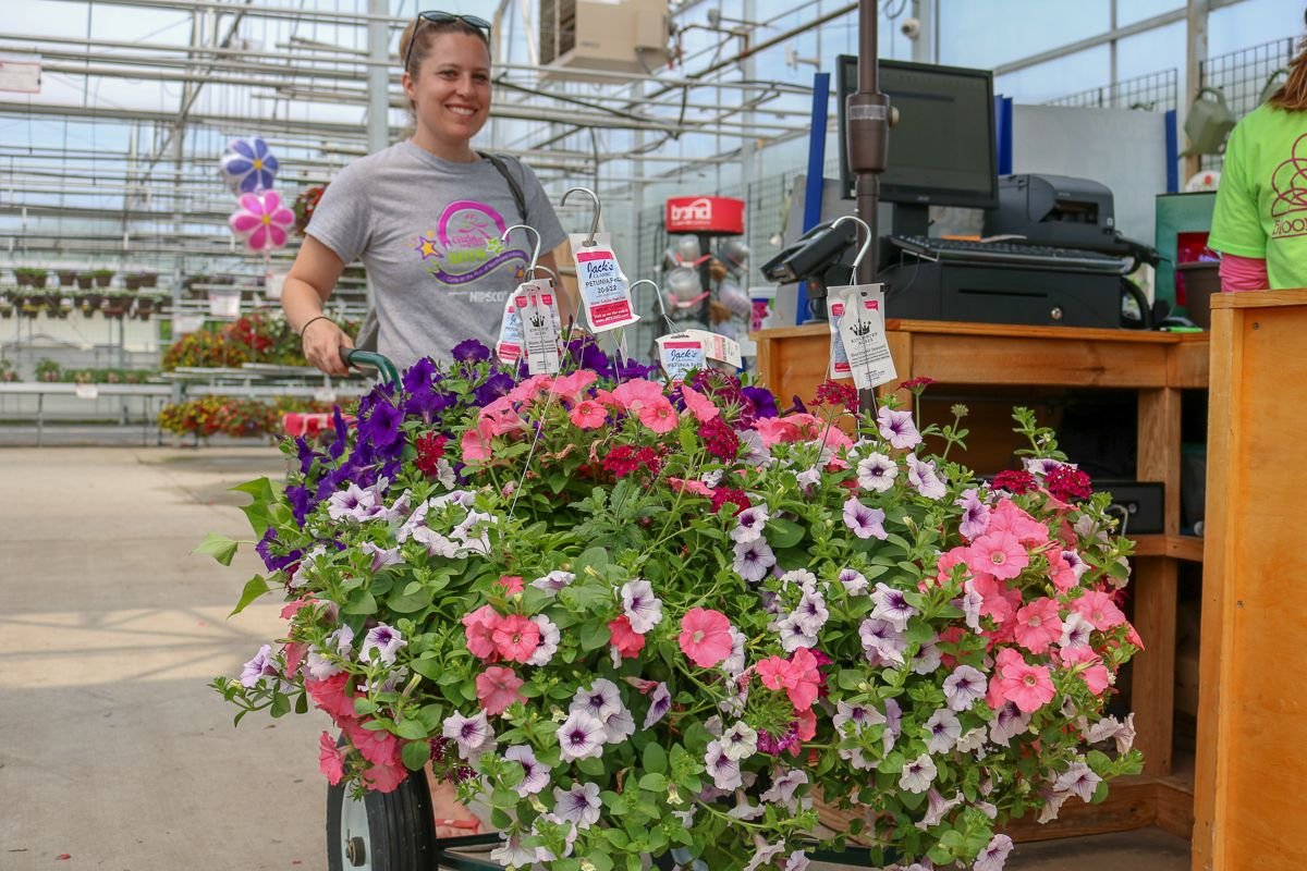 Bright Colors and Brighter Smiles Fill Blooms Greenhouse on Customer Appreciation Day