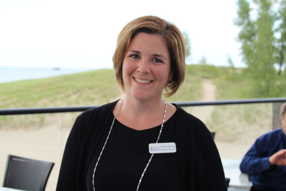 The EDCMC's Katie Eaton Celebrating a Great First Year in Economic Development for Michigan City