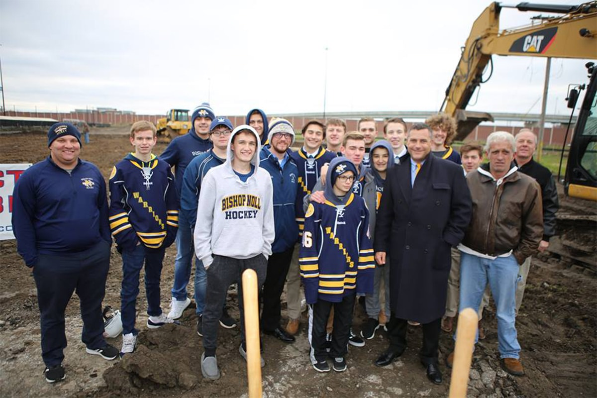 Hammond Breaks Ground on Ice Kube Hockey Complex