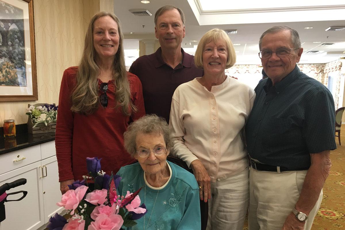 Hartsfield Village Resident Ellen Magerl Celebrates 100th Birthday