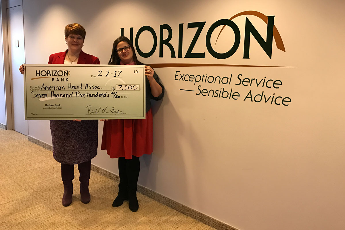 Horizon Bank Partners with the American Heart Association's  Go Red for Women Northwest Indiana Movement