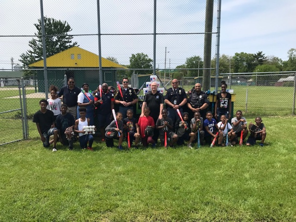 Westside summer youth baseball league receives generous equipment donation