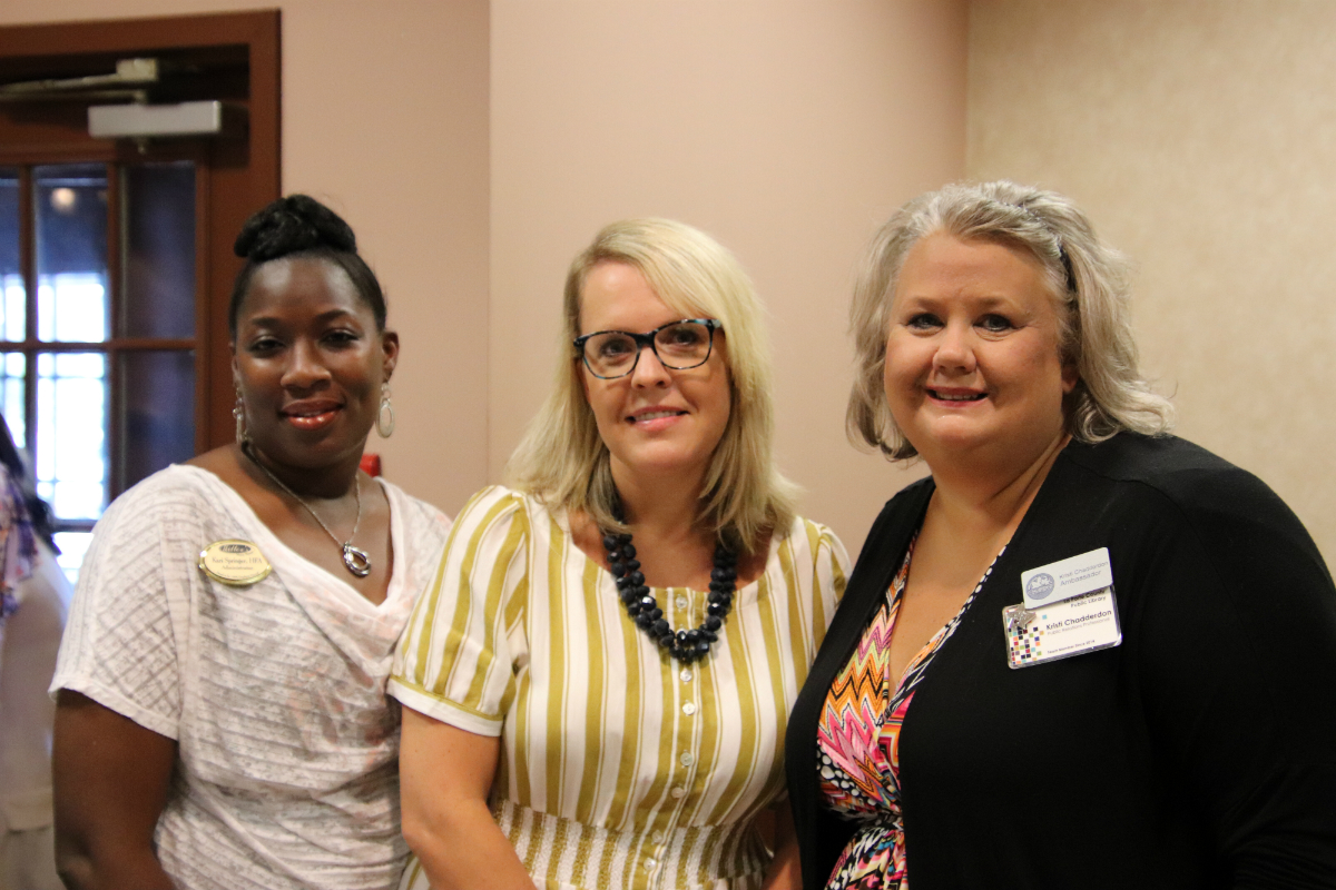 Greater La Porte Chamber of Commerce Hosts 2018 New Teachers Welcome Luncheon