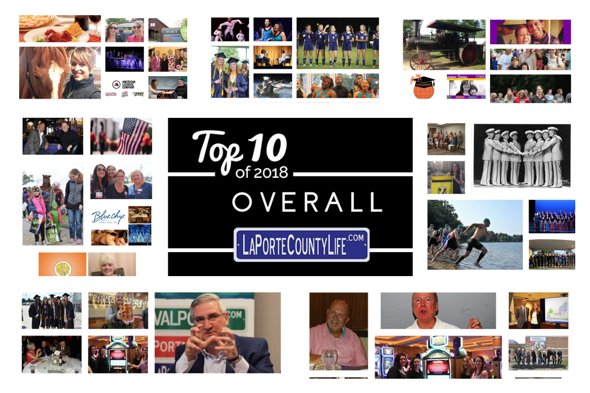 Top 10 Overall Stories on LaPorteCountyLife in 2018