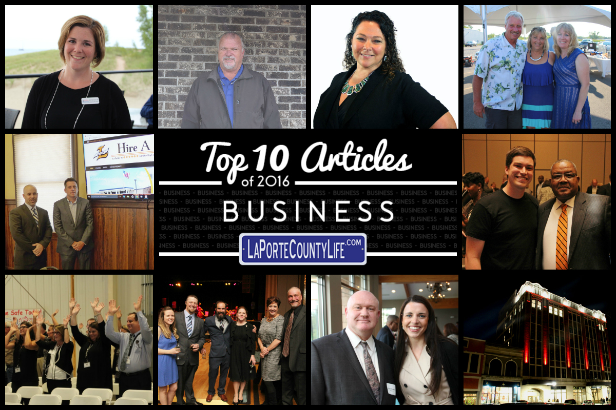 Top 10 Business Stories on LaPorteCountyLife in 2016