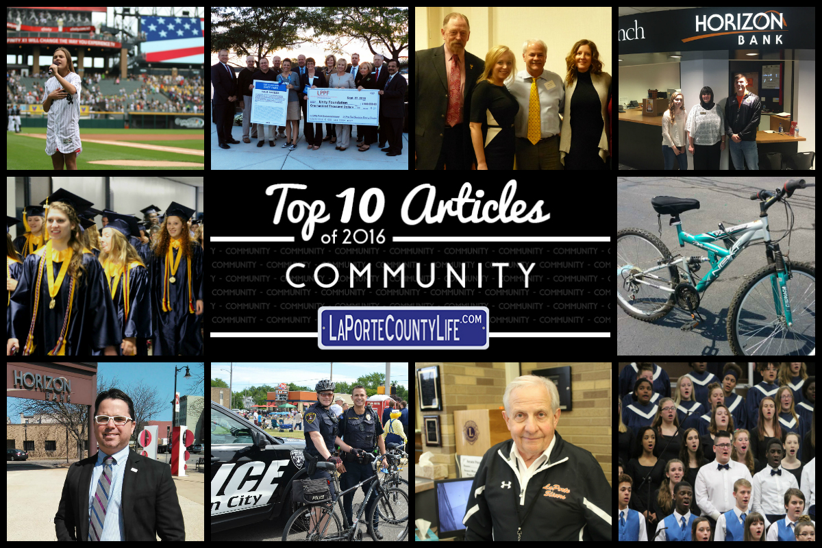 Top 10 Community Stories on LaPorteCountyLife in 2016