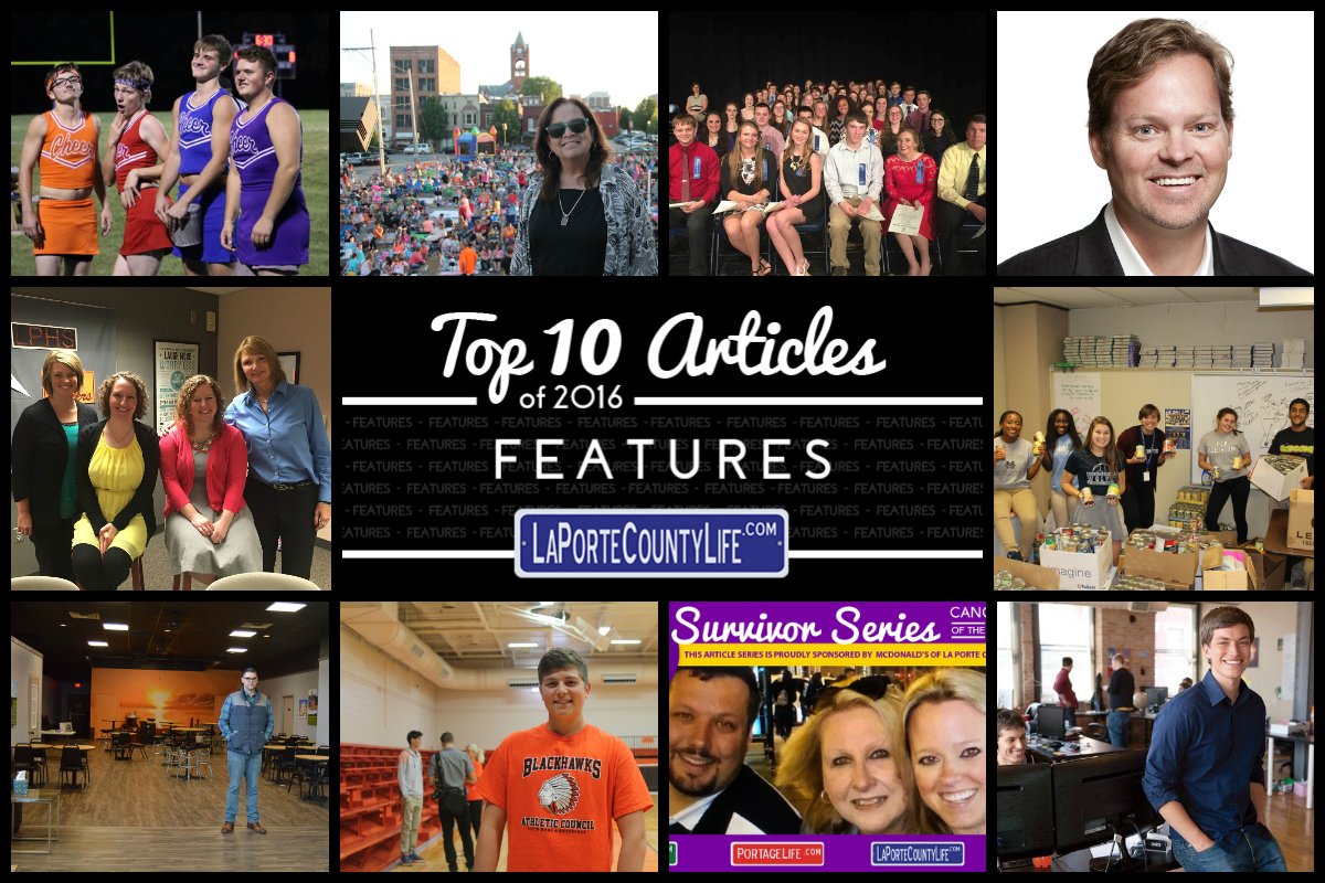 Top 10 Featured Stories on LaPorteCountyLife in 2016