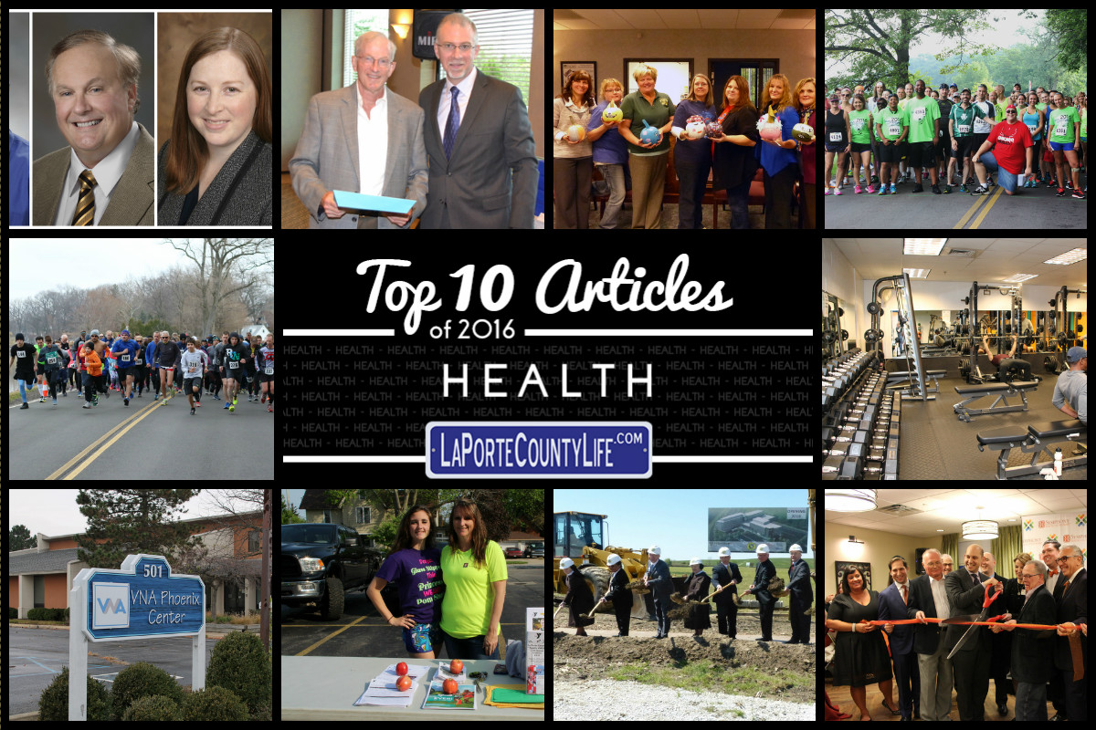 Top 10 Health Stories on LaPorteCountyLife in 2016