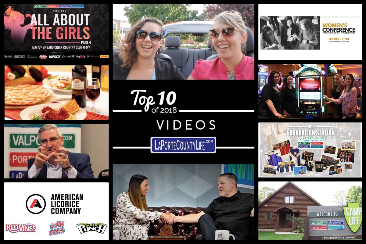 Top 10 Videos on LaPorteCountyLife in 2018