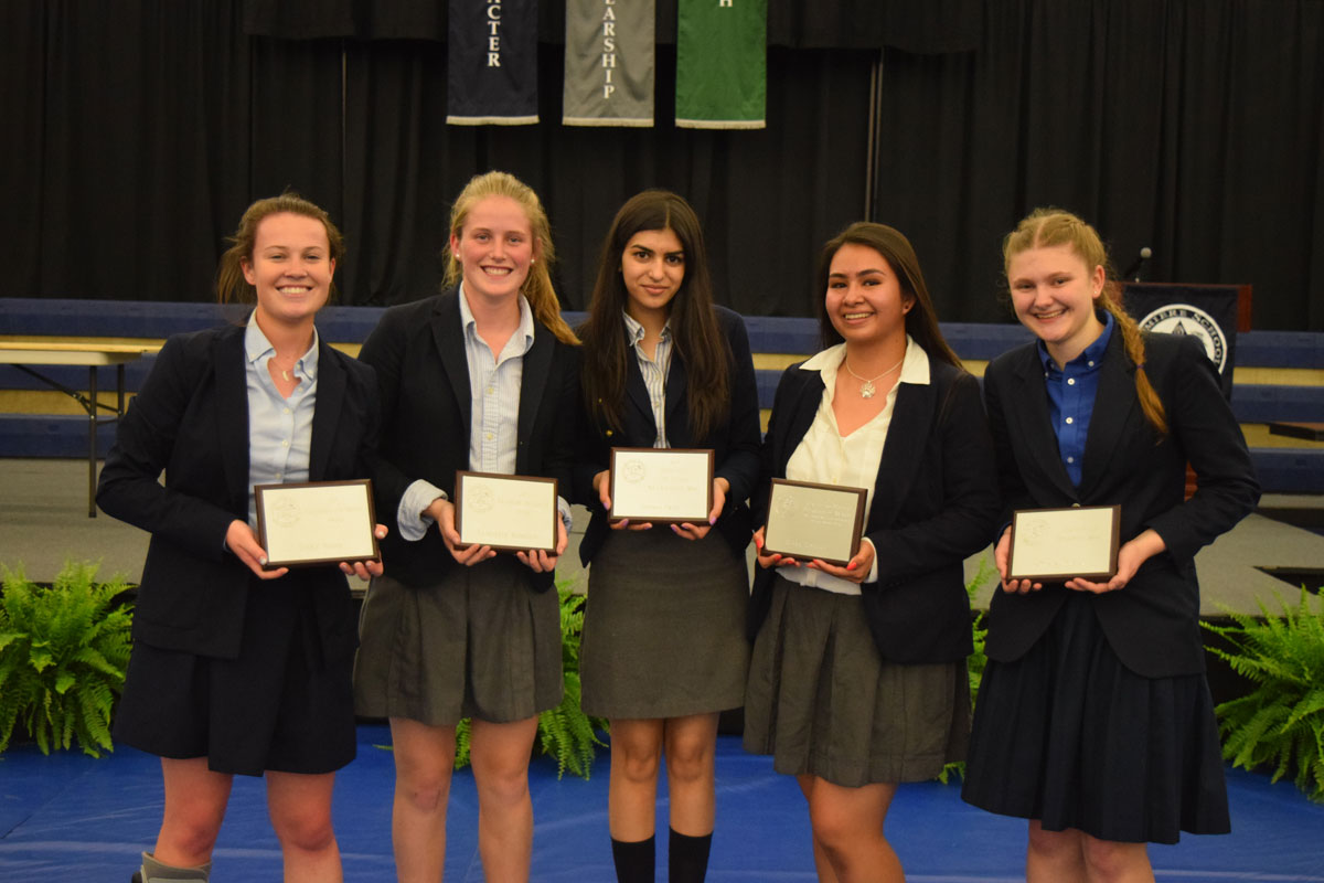 La Lumiere Honors Top Students of 2016-17 School Year