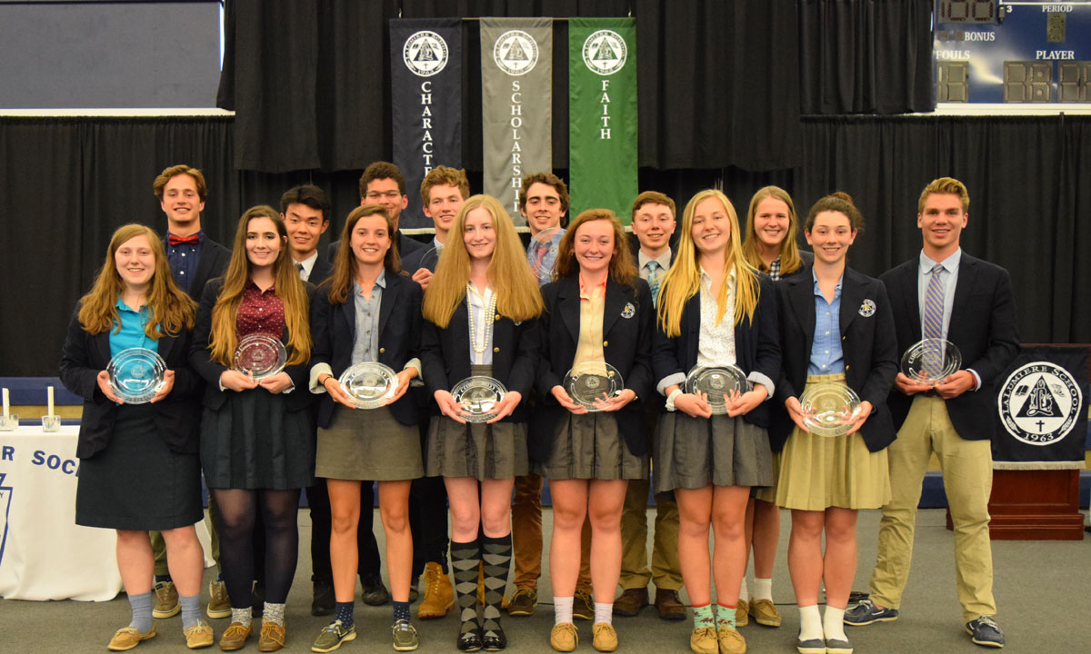 La Lumiere Athletes Honored in 2017