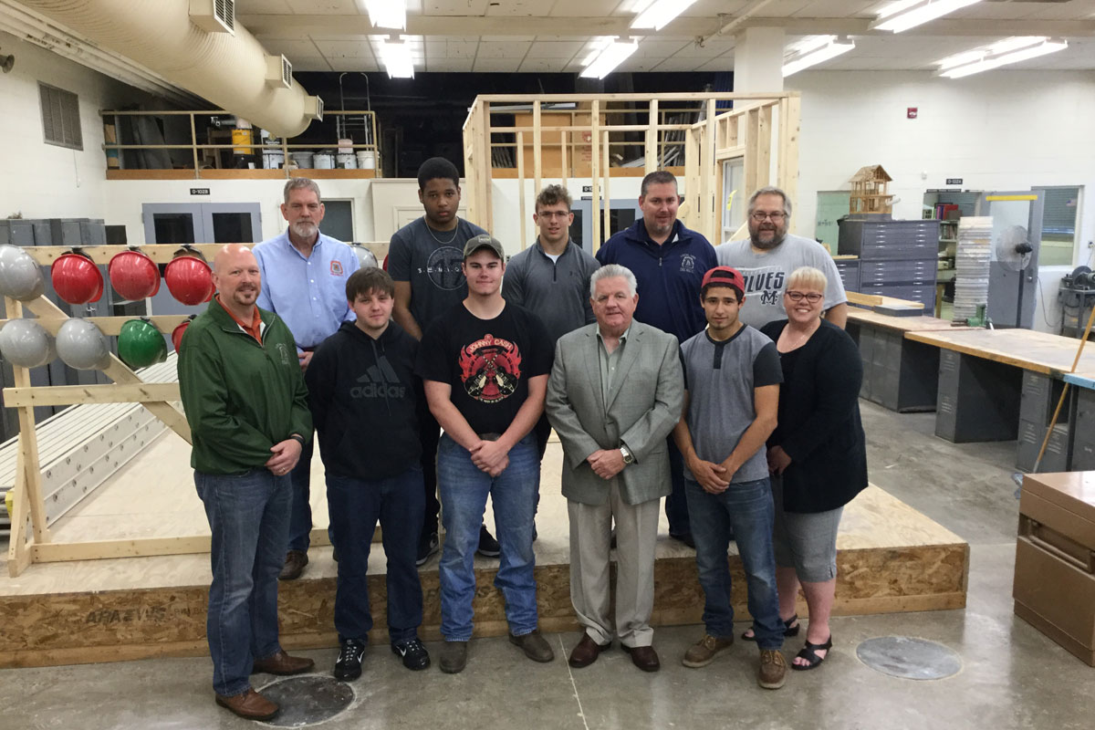 First A. K. Smith Students Entering Carpentry Apprenticeship Program thanks to Construction Partnership