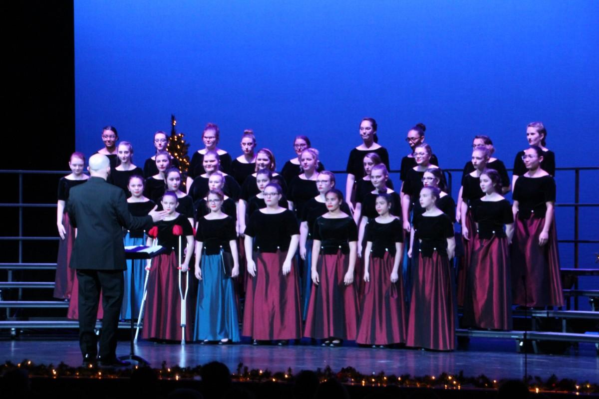 La Porte High School Music Department Shines at Winter Choral Concert