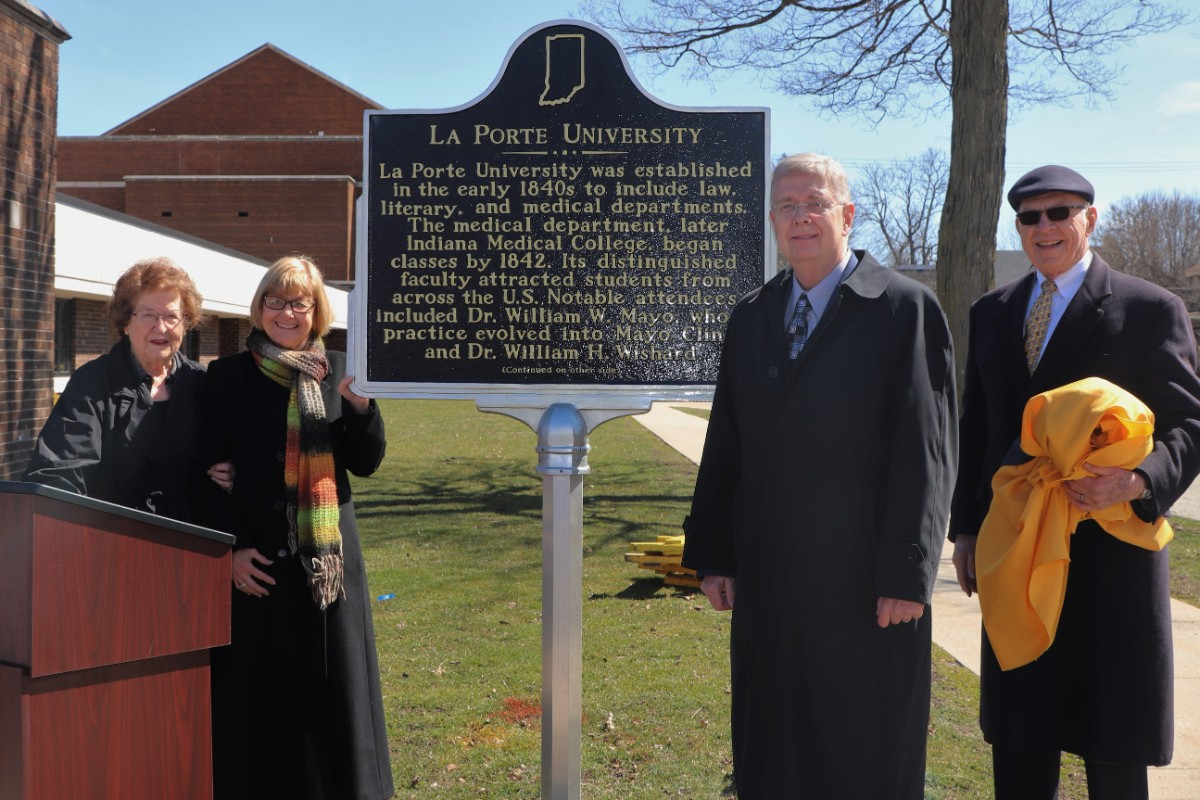 Remembering La Porte University: History is Preserved with a New Indiana Historical Marker