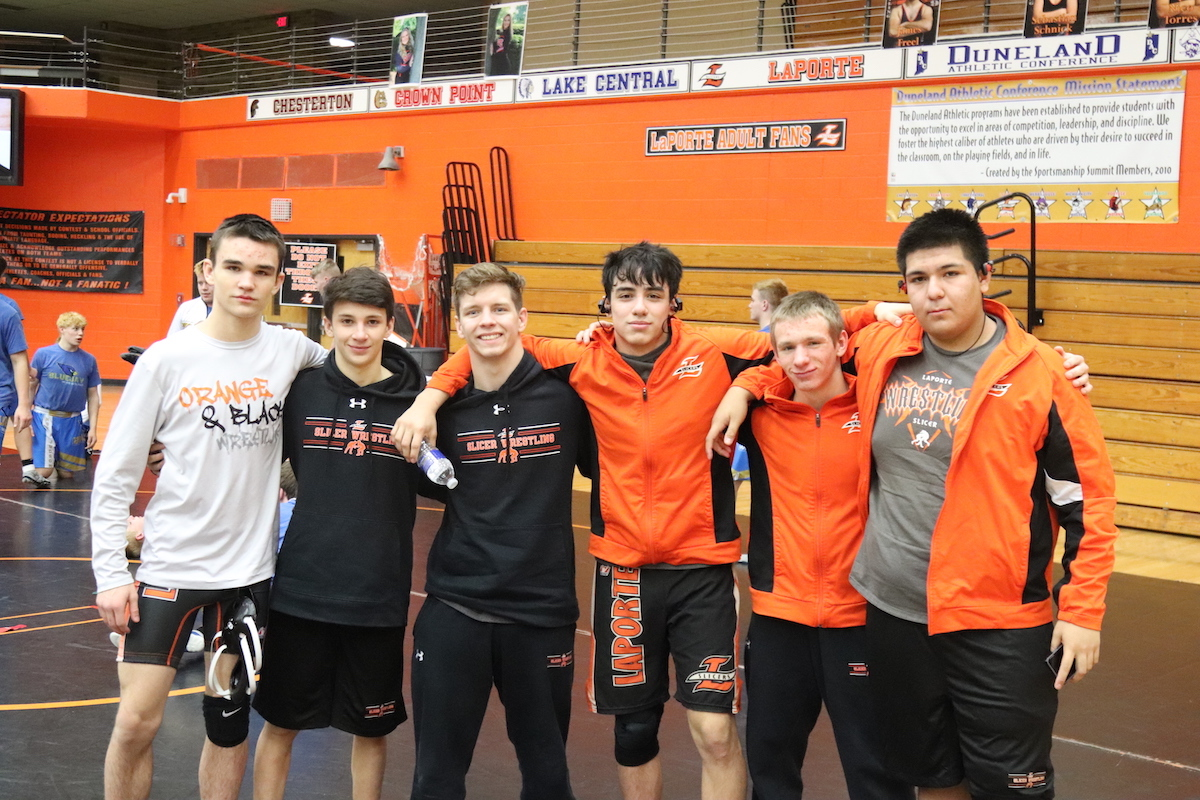 La Porte High School Hosts 81st Annual Wrestling Sectionals