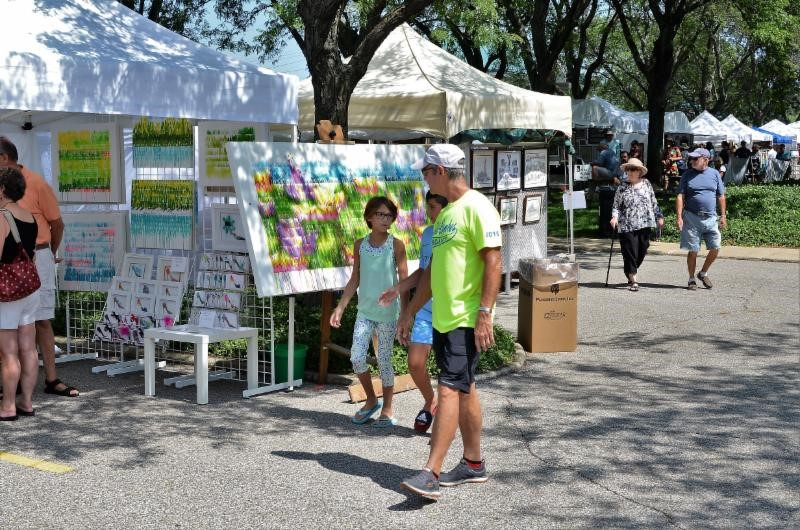 Donation Honors Vets with Free Admission to Annual Lubeznik Arts Festival