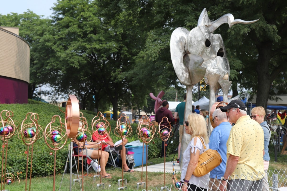 Lubeznik Center for the Arts Celebrates 37 Years of Community and Art at Annual Arts Festival