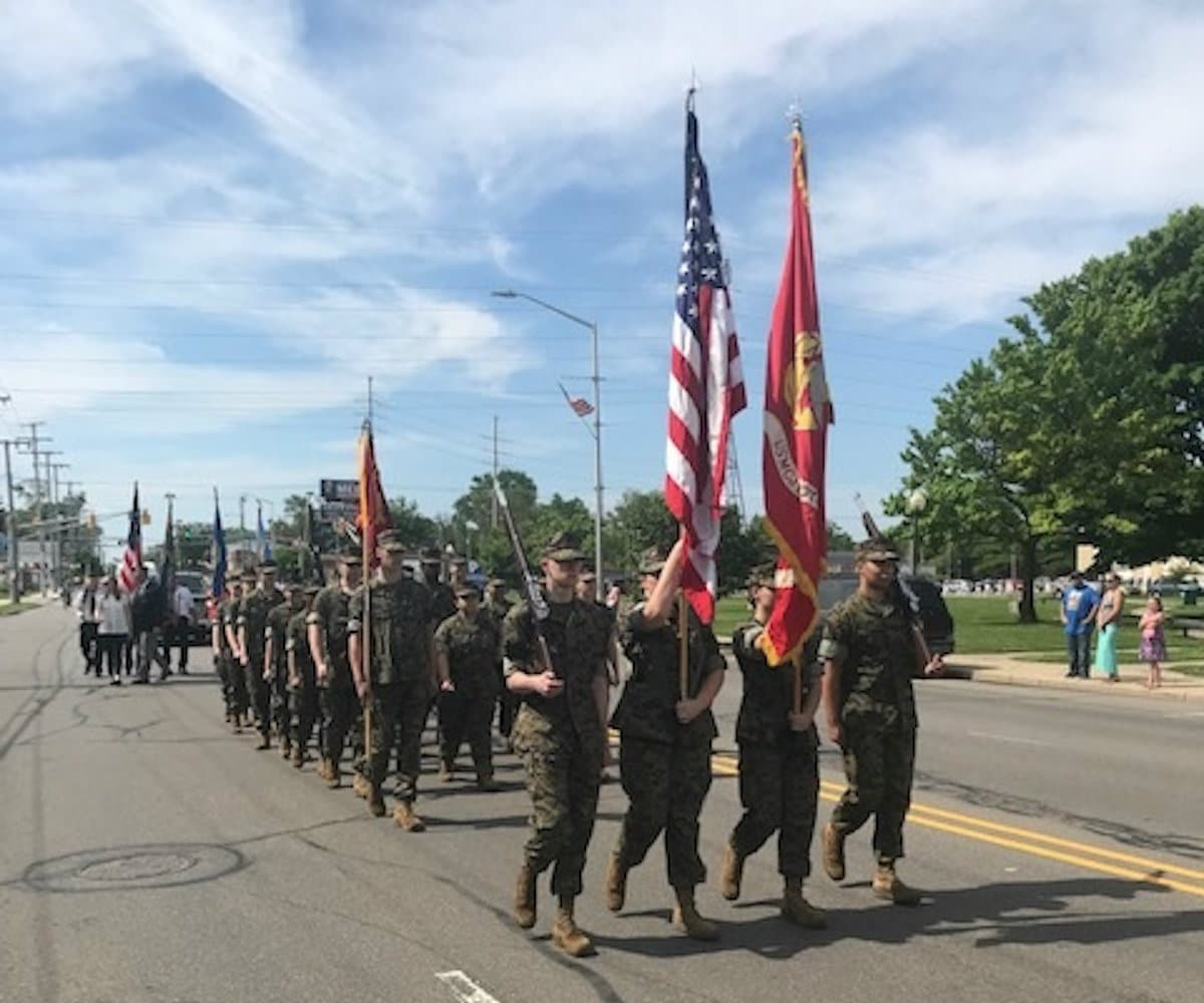 Michigan City High School JROTC Demonstrates Honor and Respect on Memorial Day