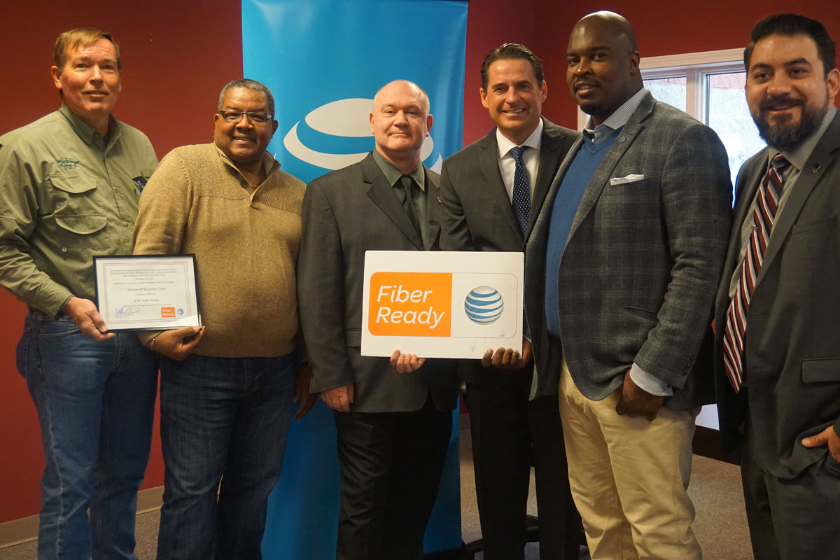 Michigan City's Woodruff Business Park Certified as AT&T Fiber Ready